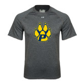 Under Armour Carbon Heather Tech Tee-Paw