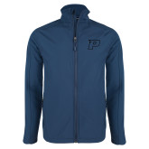 Navy Softshell Jacket-P