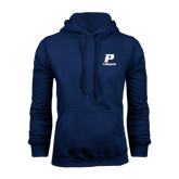Navy Fleece Hood-Volleyball