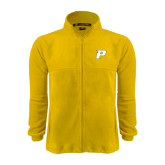 Fleece Full Zip Gold Jacket-P