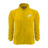 Fleece Full Zip Gold Jacket-P