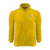 Fleece Full Zip Gold Jacket-P w/T-Bone