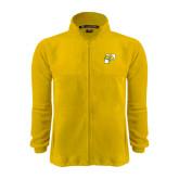 Fleece Full Zip Gold Jacket-P w/T-Bone
