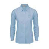 Ladies Light Blue Oxford Shirt-P