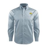 Red House Lt Blue Long Sleeve Shirt-P w/T-Bone