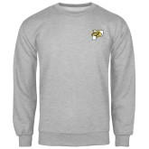 Grey Fleece Crew-P w/T-Bone