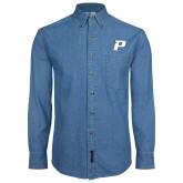 Denim Shirt Long Sleeve-P