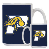 Full Color White Mug 15oz-P w/T-Bone