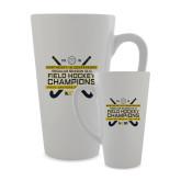 Full Color Latte Mug 17oz-2018 NE10 Field Hockey Champions