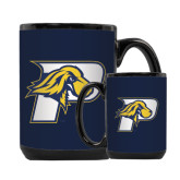 Full Color Black Mug 15oz-P w/T-Bone