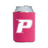 Collapsible Hot Pink Can Holder-P