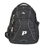 High Sierra Swerve Black Compu Backpack-P