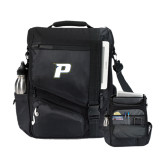 Momentum Black Computer Messenger Bag-P
