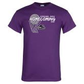 Purple T Shirt-Homecoming 2018