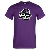 Purple T Shirt-Lion PC