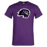 Purple T Shirt-Lion Head
