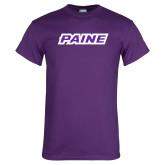 Purple T Shirt-Paine