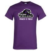 Purple T Shirt-Track & Field