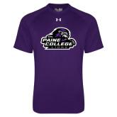 Under Armour Purple Tech Tee-Primary Mark