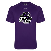 Under Armour Purple Tech Tee-Lion PC