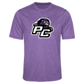 Performance Purple Heather Contender Tee-Lion PC