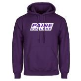 Purple Fleece Hoodie-Paine College Lions