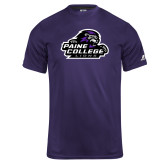 Russell Core Performance Purple Tee-Primary Mark