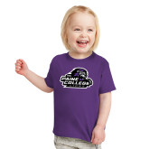 Toddler Purple T Shirt-Primary Mark