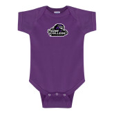 Purple Infant Onesie-Primary Mark