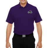 Under Armour Purple Performance Polo-Primary Mark