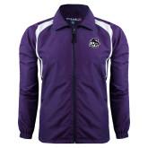 Colorblock Purple/White Wind Jacket-Lion PC