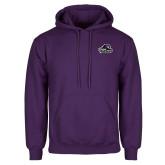 Purple Fleece Hoodie-Primary Mark