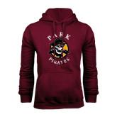 Maroon Fleece Hoodie-Official Logo