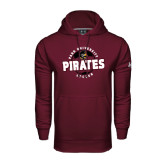 Under Armour Maroon Performance Sweats Team Hood-Soccer Circle
