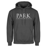 Charcoal Fleece Hoodie-University Mark