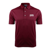 Maroon Dry Mesh Polo-Park University Arched Collegiate