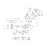 Large Decal-Pacific University, 12 inches wide