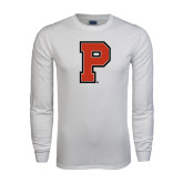 White Long Sleeve T Shirt-P