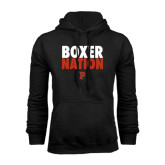 Black Fleece Hoodie-Boxer Nation