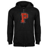 Black Fleece Full Zip Hoodie-P