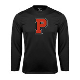 Performance Black Longsleeve Shirt-P