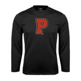 Syntrel Performance Black Longsleeve Shirt-P