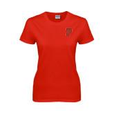 Ladies Red T Shirt-P