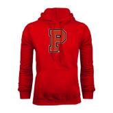 Red Fleece Hood-P
