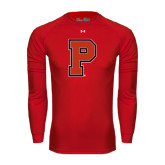 Under Armour Red Long Sleeve Tech Tee-P