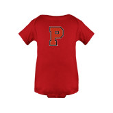 Red Infant Onesie-P