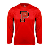 Performance Red Longsleeve Shirt-P