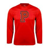 Syntrel Performance Red Longsleeve Shirt-P