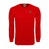 Red Long Sleeve T Shirt-P