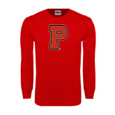 Red Long Sleeve T Shirt-P